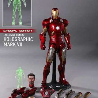 Hot Toys Avengers Mark 7 VII Special Edition
