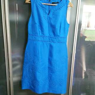 Designer Blue Dress Size 10