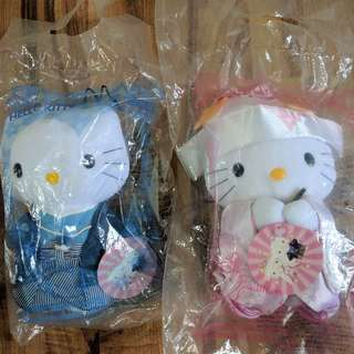 Wedding Series Hello Kitty and Dear Daniel Collectibles Stuffed Toys - Japanese Couple Set