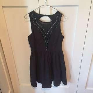 Black Dress From Dotti