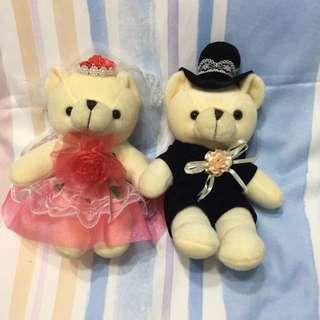 Wedding Bears (Car decor)