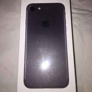 iPhone 7 Matte Black 128gbs