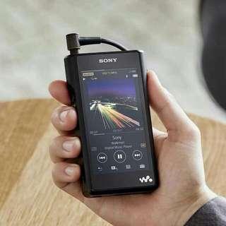 送* 皮套 價值$880 全新 SONY NW-WM1A 鋁合金 播放器 DAP 輕觸式 Audio Player 高解析度 HiRes 內置128GB 支援 4.4mm平衡耳機插頭 DSD NFC 無線藍牙 MicroSD