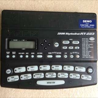 Zoom Rhythmtrack RT 223 Drum Machine