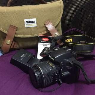 Nikon D3200 with AF-S Nikkor 18-55mm VR Image Stabilization Lens