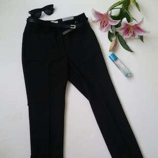 NWT H&M Work Slim Pants Size 6