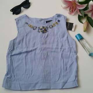 NWT Topshop Blouse XS