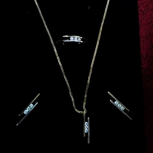 18k Gold Jewelry Set