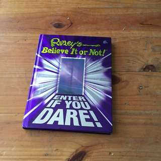 Ripley's Believe Or Not Book