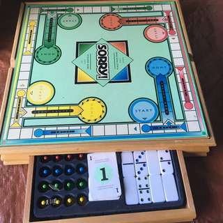 5 Board Games In 1