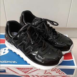 New Balance Patent Sneakers Limited Size 36 Like New Worn 1x