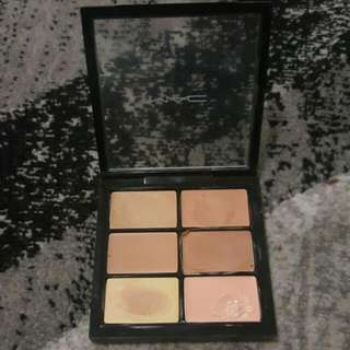 authentic MAC PRO CONCEAL AND CORRECT PALETTE/MEDIUM.
