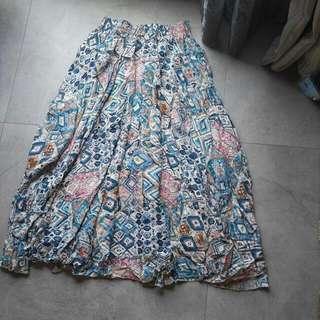 90% New 民族長裙Long Dress #SELLITNOW