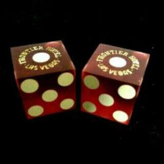 Pair Of Used Casino Dice