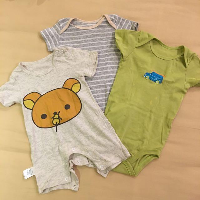 11 Pieces Baby Boy (3-6 Months) Clothes Bundle