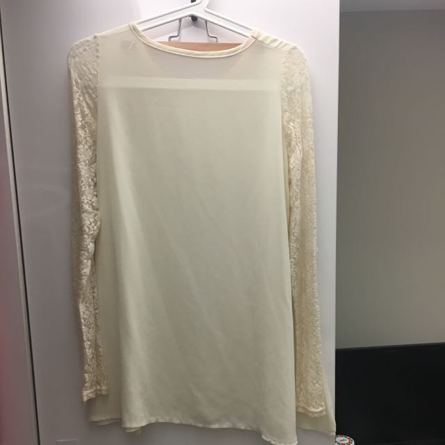 蕾絲雪紡紗洋裝