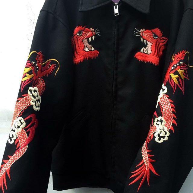 橫須賀刺繡夾克外套