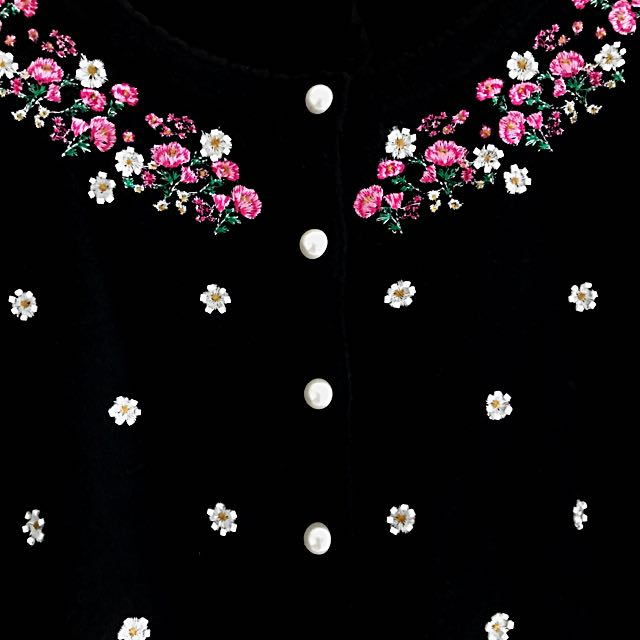 Alannah Hill Stunning Flower Cardi (with Tag)