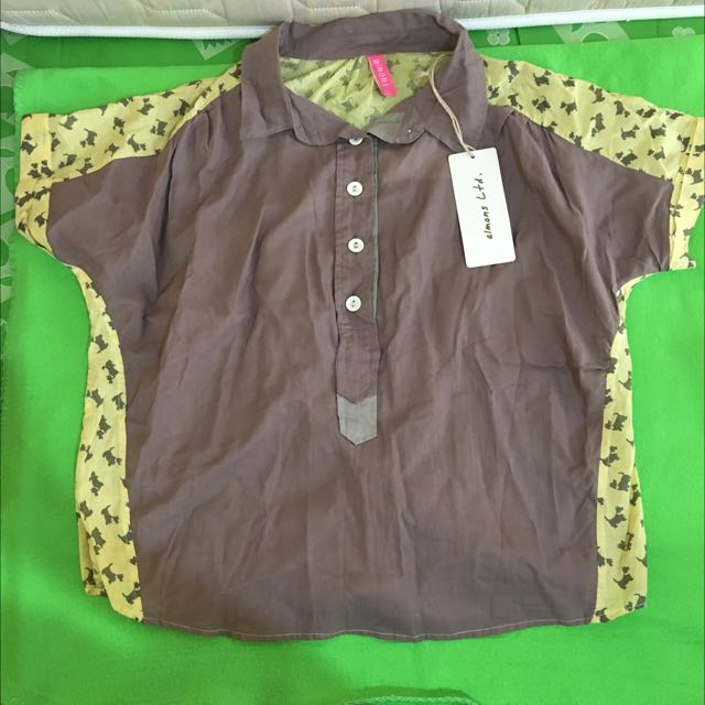 Almons Puppy Blouse