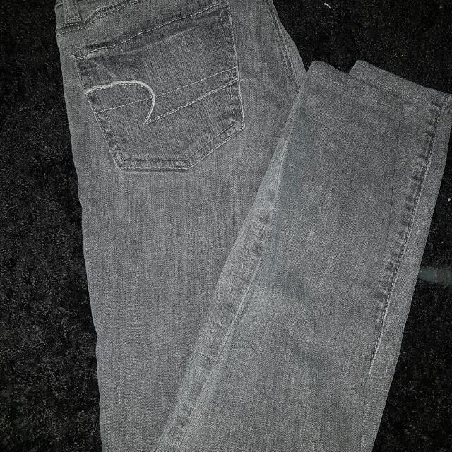 American Eagle Grey Jean