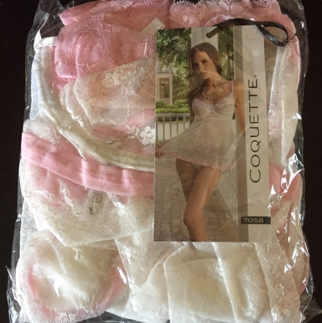 Babydoll Lingerie In Plus Size 1X