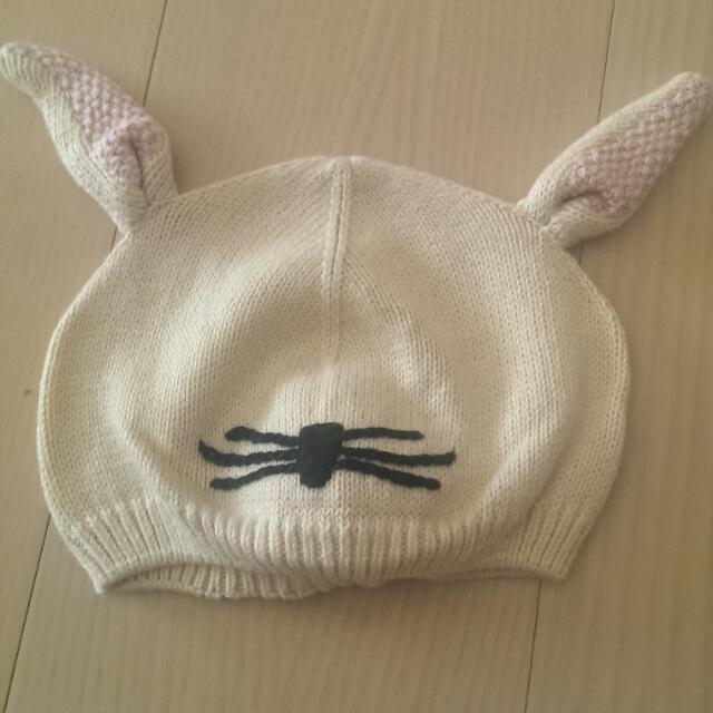 babyGap兔子帽