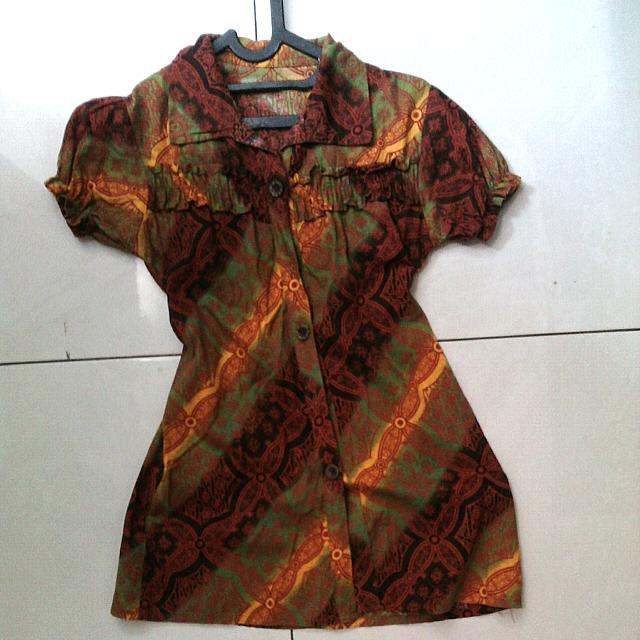 Baju Batik Cewe