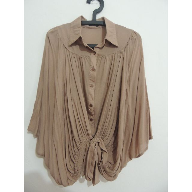 Batwing Blouse Icons Light Brown