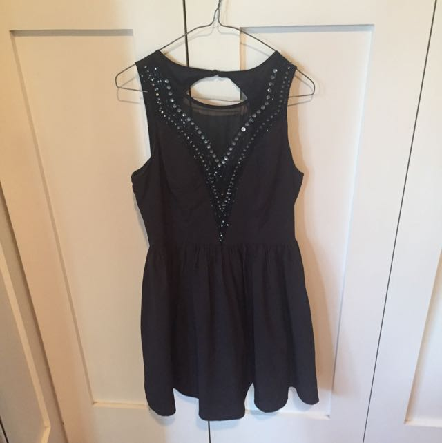 Black Dress From Dotti