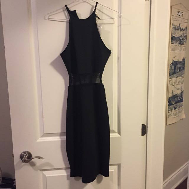 Black Size Small Dress New From Dynamite With Tags