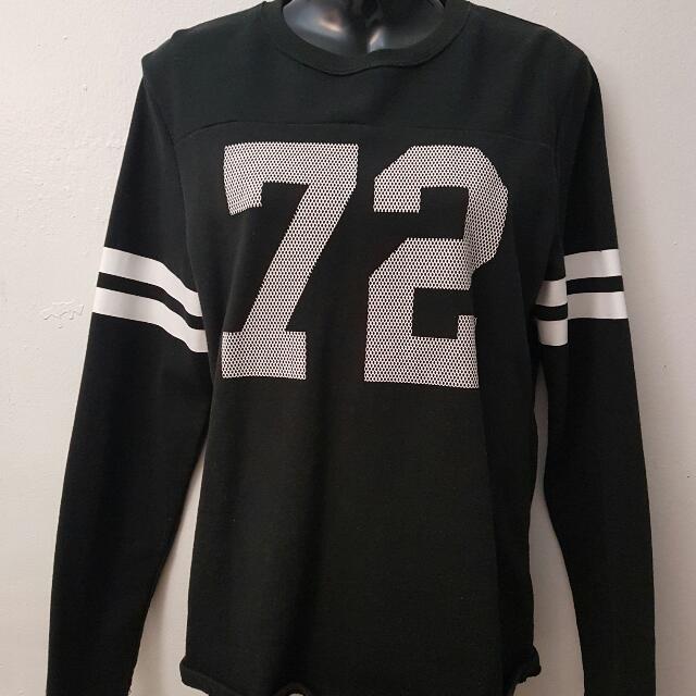 Black Sporty Sweater