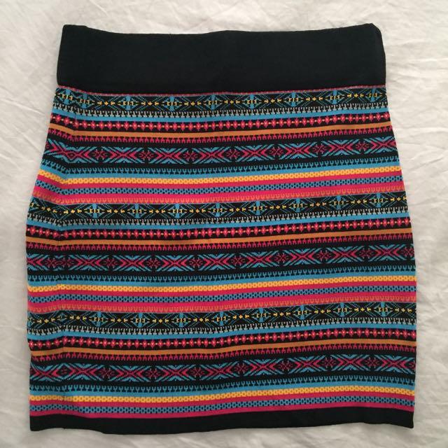 Blockout Skirt
