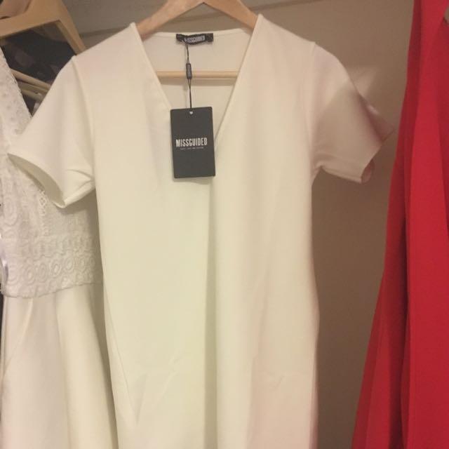 BNWT Missguided Scuba Dress