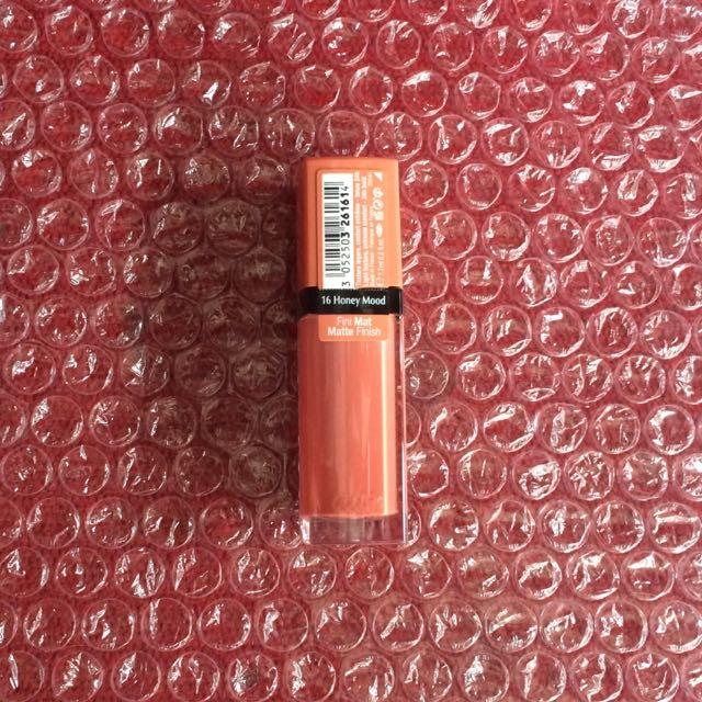 Bourjois Rouge Edition Velvet 16 Honey Mood