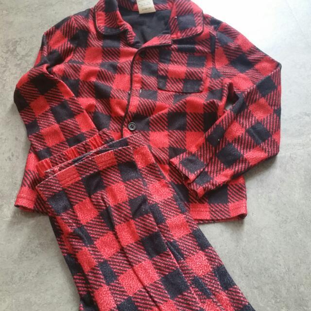 Boys Fleece Pajamas