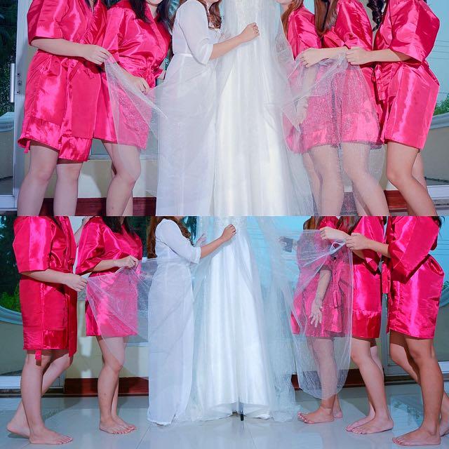 Bridesmaid's Robe