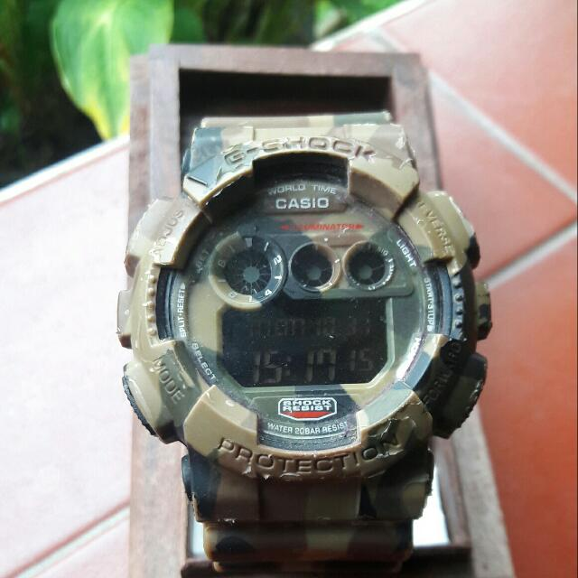 Casio Army Look
