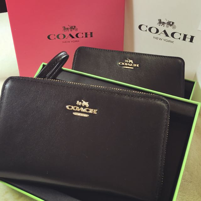 Coach皮夾包