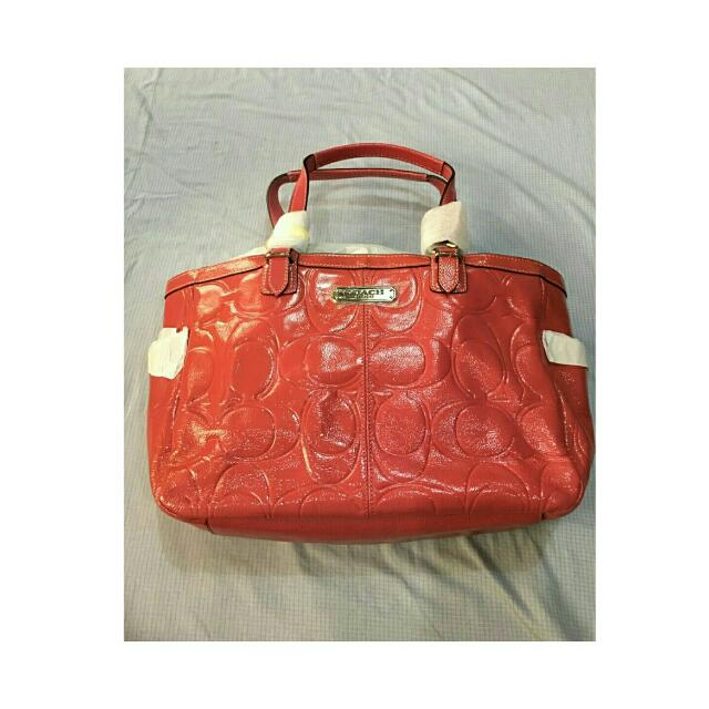 Coach Pink Shoulder Bag