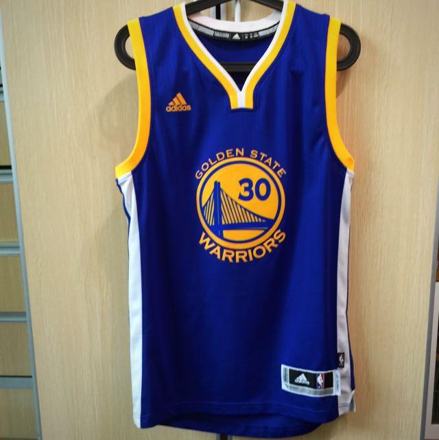 《勇士萬歲》Curry30號愛迪達球衣