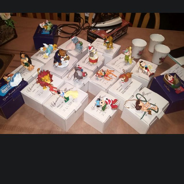 Disney Original Christmas Orniments