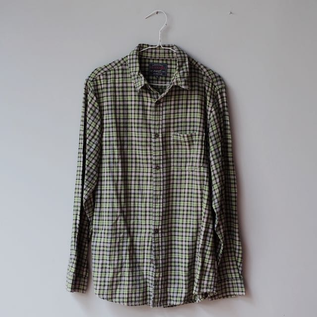 Flanel Shirt By BALENO
