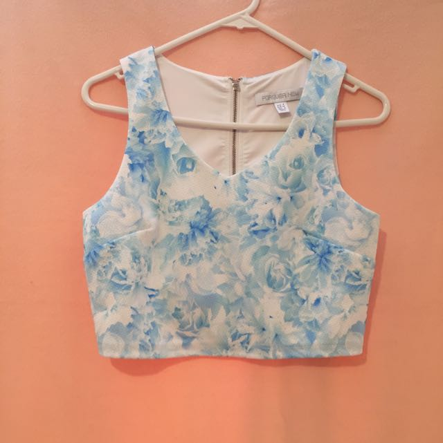 Forever New Crop Top Size 6