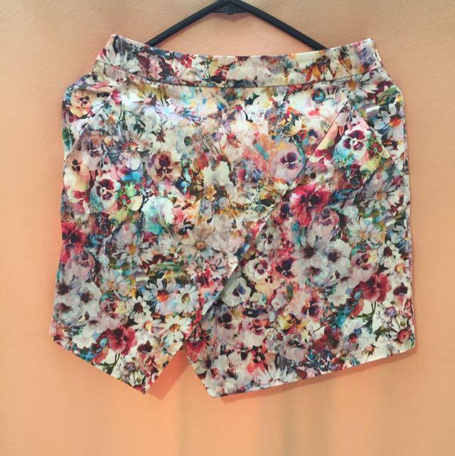 Forever New Size 6 Floral Skirt