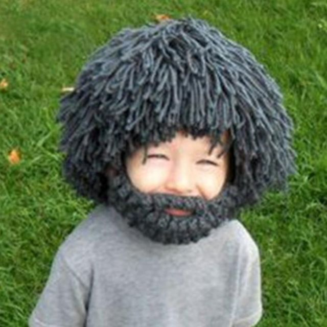 f6d9f788b07 FREE DELIVERY  Cute Beard Wig Hobo Mad Scientist Rasta Caveman ...