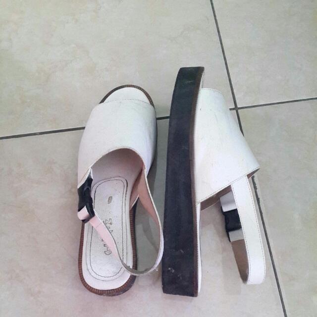 Glintz White Shoes