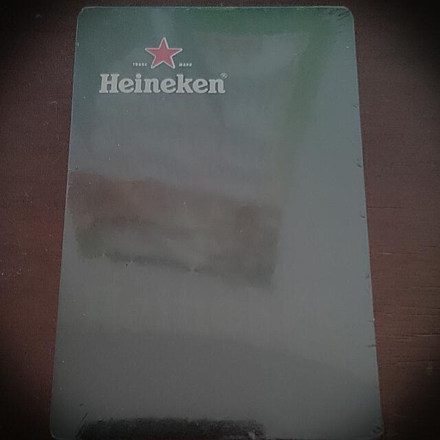 Heineken 復古撲克牌