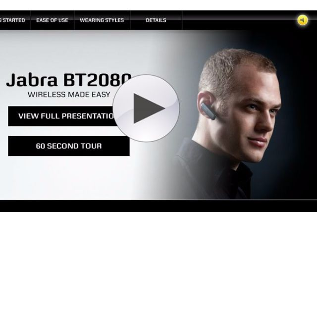 Jabra Bt-2080藍芽耳機