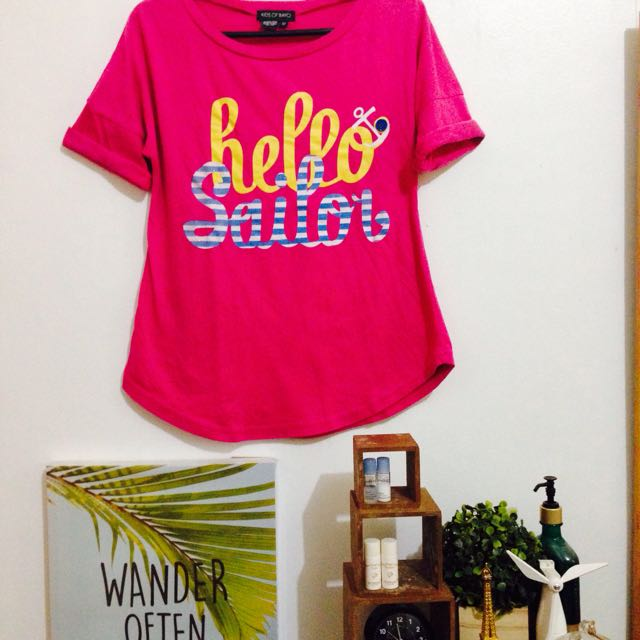 Kids of Bayo Hello Sailor Tee
