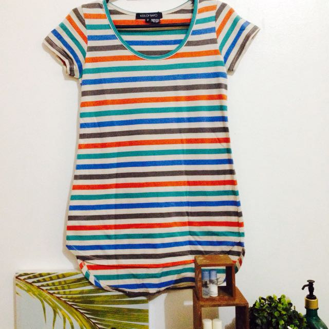 Kids of Bayo Striped Tee